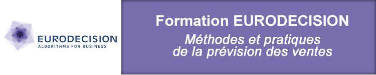 EURODECISION Formation Prévision des Ventes